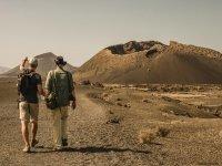 Caminando entre volcanes