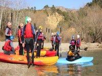 piraguismo类组的皮划艇运动员皮划艇运动员