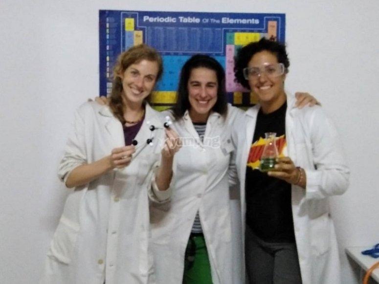 Gioco di fuga in laboratorio
