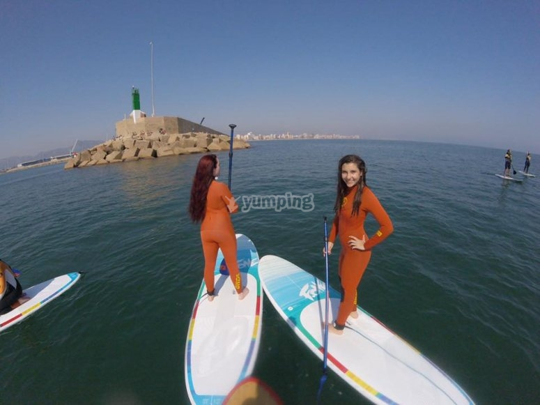 Navigating with SUP boards