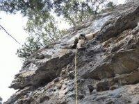 Escalada en roca con cuerdas