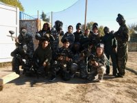 300 Balls Paintball in Paracuellos BBQ or Paella