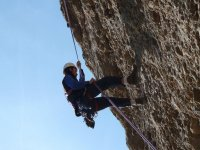 Ascension vertical en Riglos