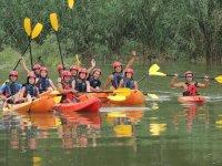 De excursion en canoa en Huesca