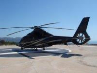 Bienvenido a bordo del helicoptero