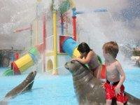 parque de agua infantil