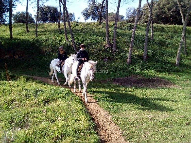 Ruta a caballo en Canoves