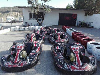 Gara di kart a Granada 18 minuti
