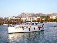 Paseo en barco lläut tradicional Mallorca 4 horas