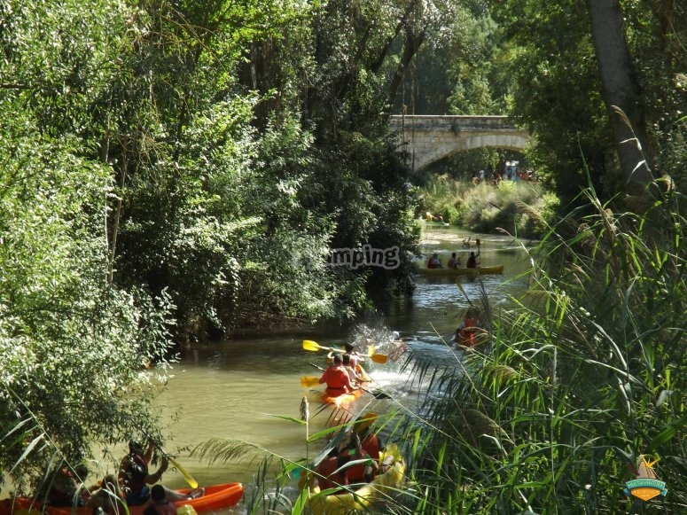 Giornata in canoa con gli amici