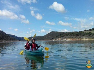 Descenso en canoa en Guadalajara y picnic 4 horas