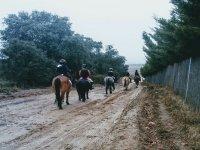Ruta a caballo en Madrid