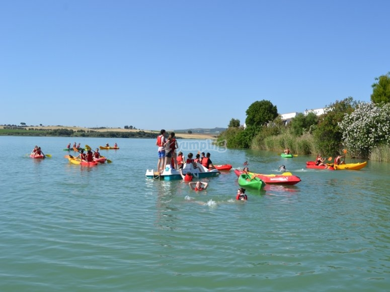 Enjoy a kayak route