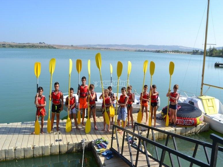 阿尔戈斯-德拉弗龙特拉的水上活动