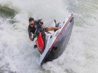 巴伦西亚的水上摩托艇