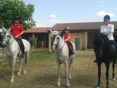 Ruta a caballo Comarca de Verín  para expertos 1 h