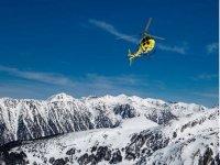 Vuelo en helicoptero sobre la sierra nevada