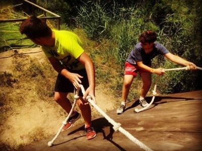 多度冒险营地在Cofrentes一周