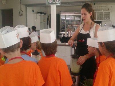 Campus de Cocina para niños en Sevilla