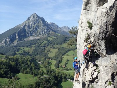 Via Ferrata Socueva Advanced Level in Cantabria