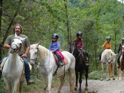 TRAC Terapies i Rutes Amb Cavalls Rutas a Caballo