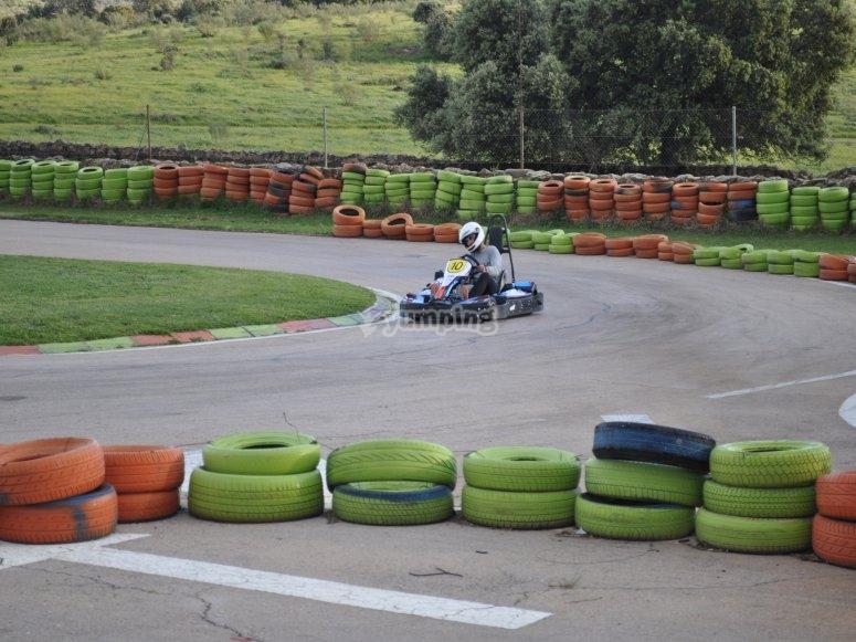 Competición de kart