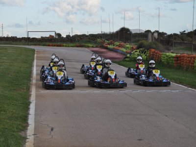 Karting Race in Caceres, 4 + 12 Laps