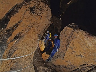 Medium Level Caving in Rabelais Cueva Fresca