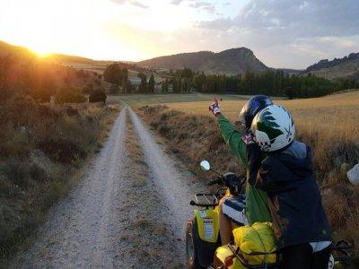 在Alcarria半天的四路线