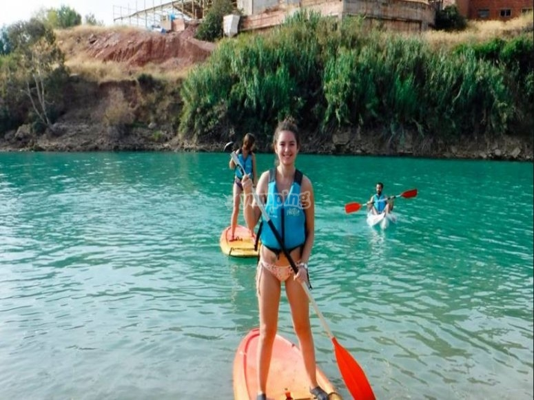 Alquiler material paddle surf