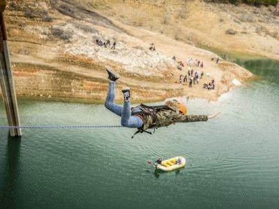 Bungee Jump in Vía Verde de los Baños de Mula
