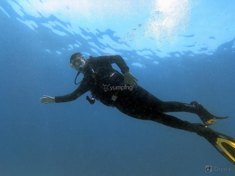 Moviéndonos bajo el agua