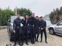 Bautismo de buceo en Málaga con fotos