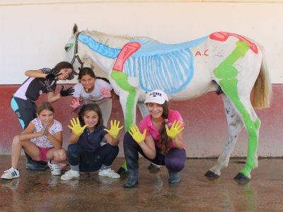 Campamento equitación inglés Semana Santa Sevilla