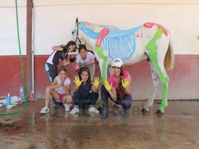 1-Week Horse Riding Camp in Seville, Easter