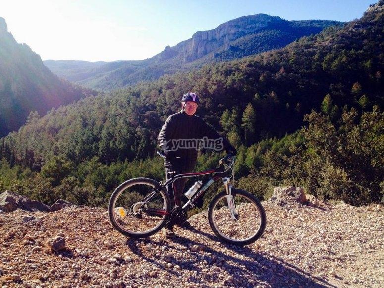 Pasa el dia en bici