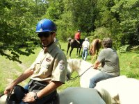 routes and excursions on horseback