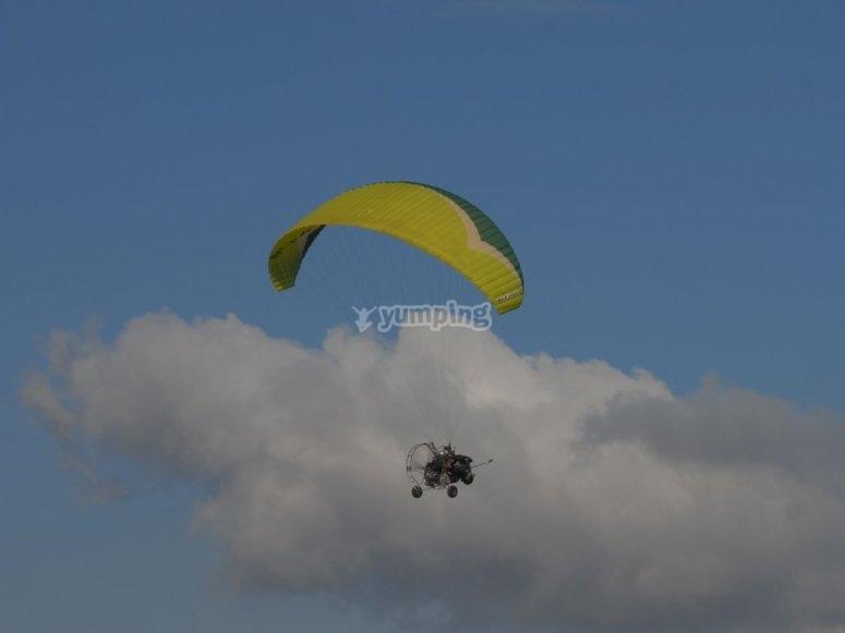 Paratrike nel cielo di Jaen