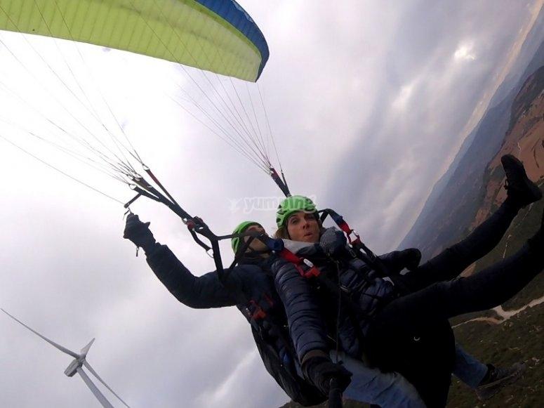 滑翔伞飞行课