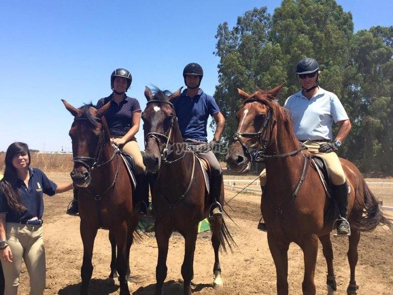 享受马匹的一天