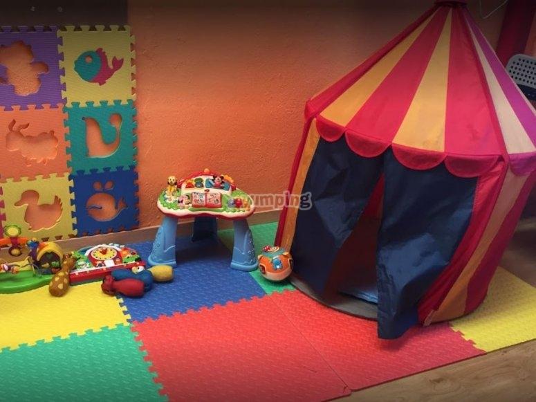 Circo y juguetes en Valdemoro