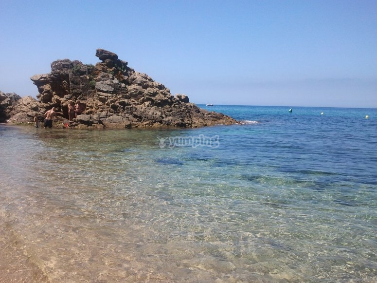 Cala Canyelles beach