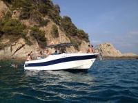 Birthday boat in Blanes