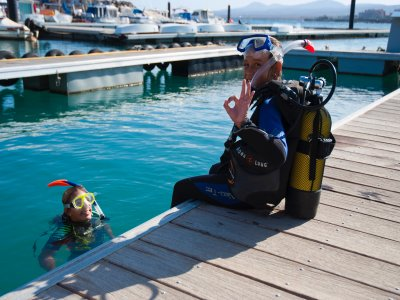 Scuba Diving Baptism in Caleta de Fuste + Photos