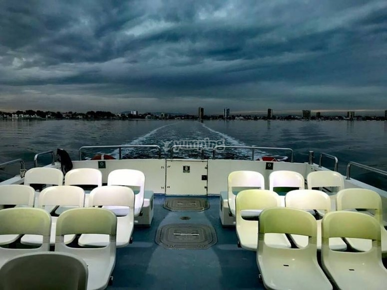 Sedi dei traghetti nel Mar Menor
