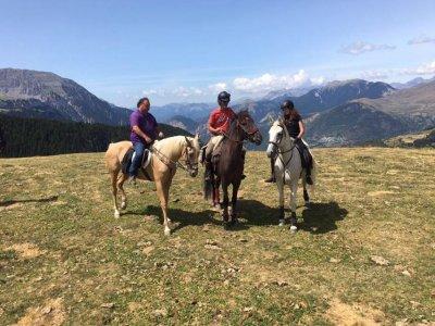 Scenic horseback route in Montseny 1 hour