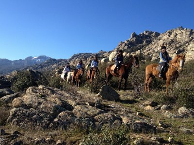 Horse Ride La Pedriza + Previous Class 1h
