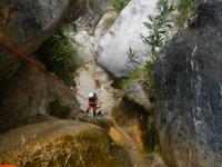 Lentegí峡谷格拉纳达的溪降