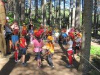 Avventura per bambini negli alberi di Las Batuecas
