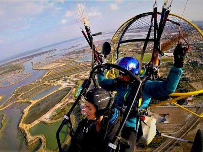 Paramotor Flight in Portugal Near Badajoz, 30min